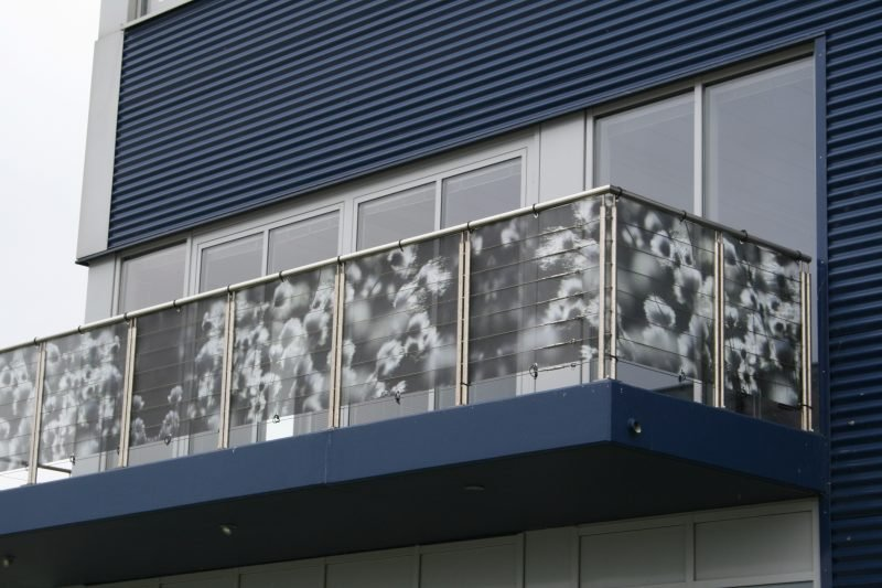Balkonumrandung Print