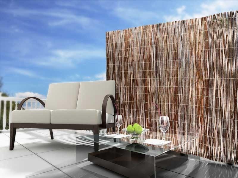 balkon verkleiden best amazing bambusmatte balkon pvc sichtschutz balkon zaun bambusmatte. Black Bedroom Furniture Sets. Home Design Ideas