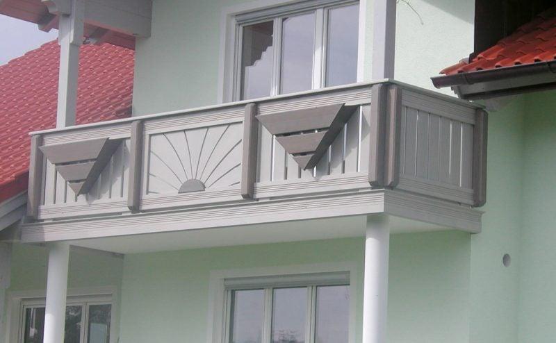balkonverkleidung schützend