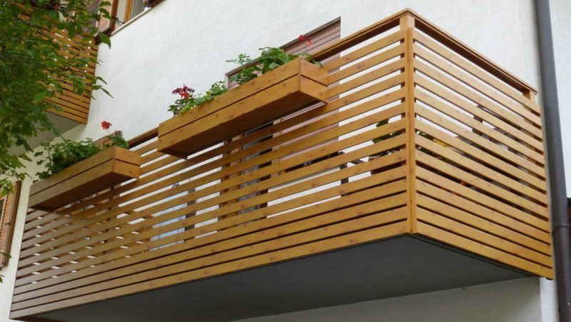 balkonverkleidung schonend