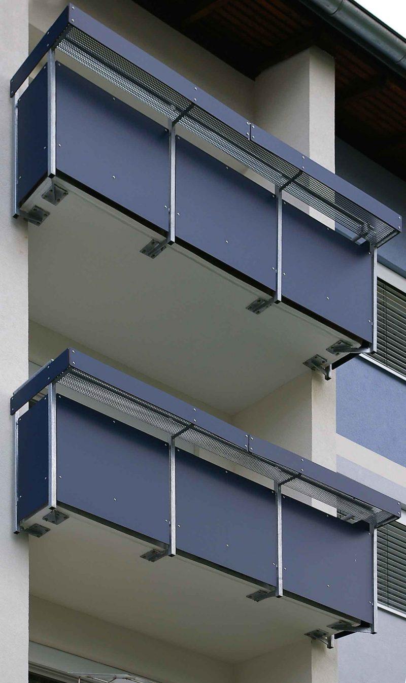 balkonverkleidung stabil
