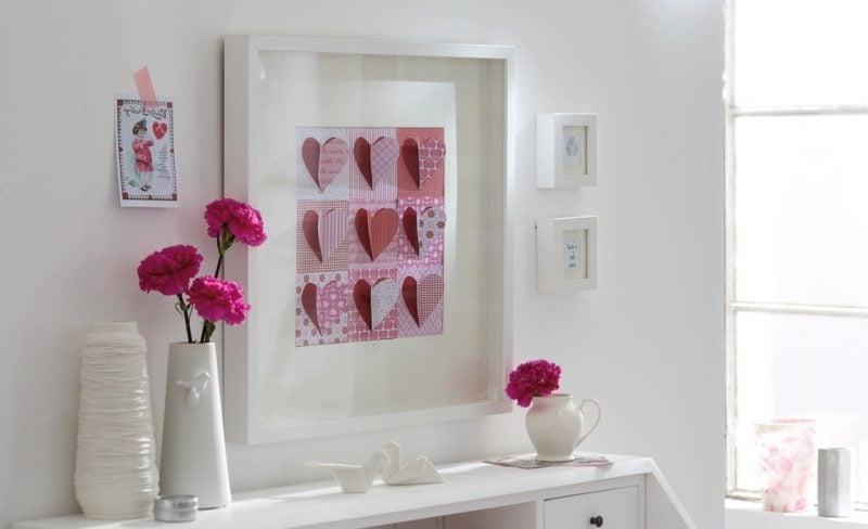 basteln zum muttertag 10 liebevolle ideen diy muttertag zenideen. Black Bedroom Furniture Sets. Home Design Ideas