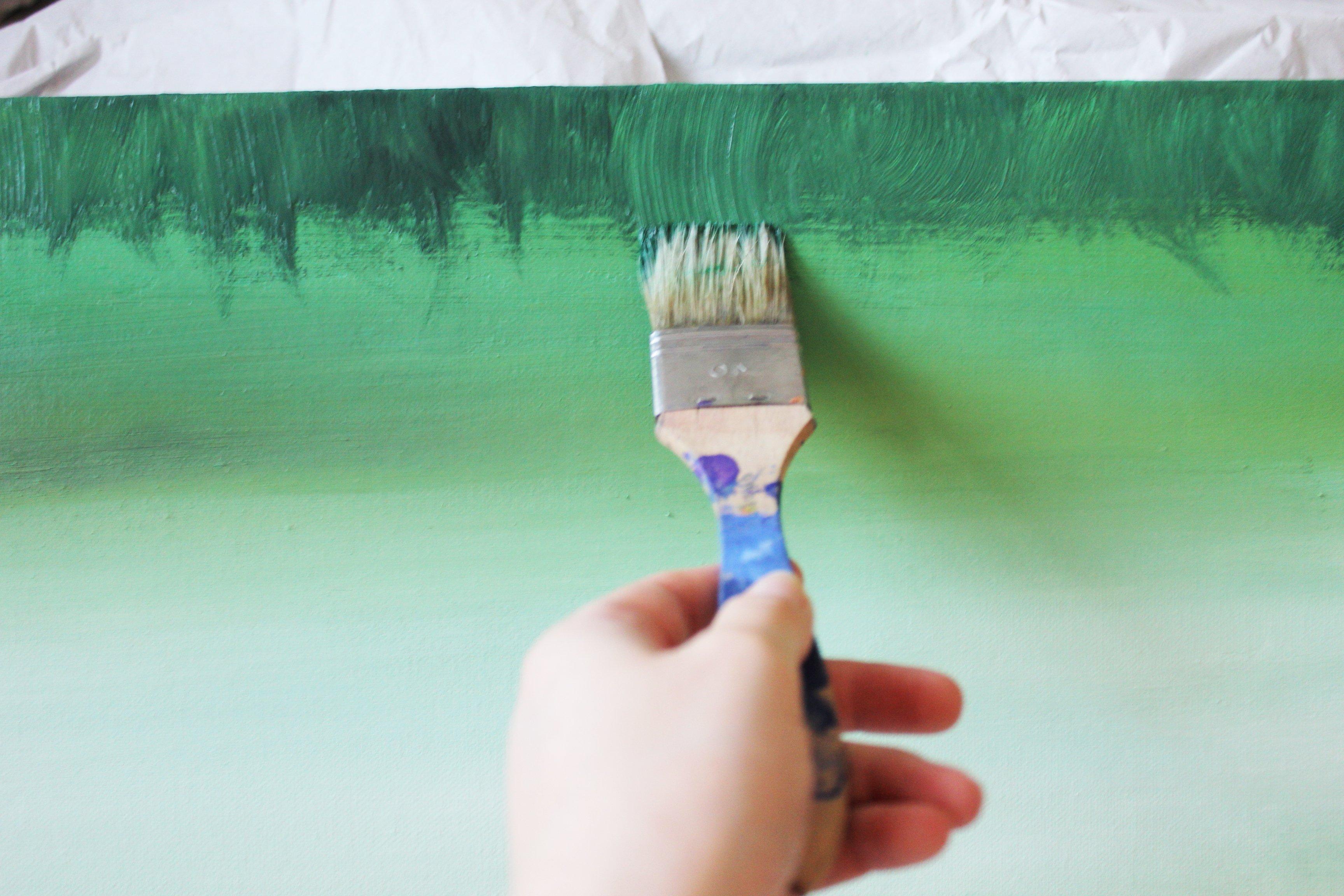 Acrylkunst Bilder selber malen