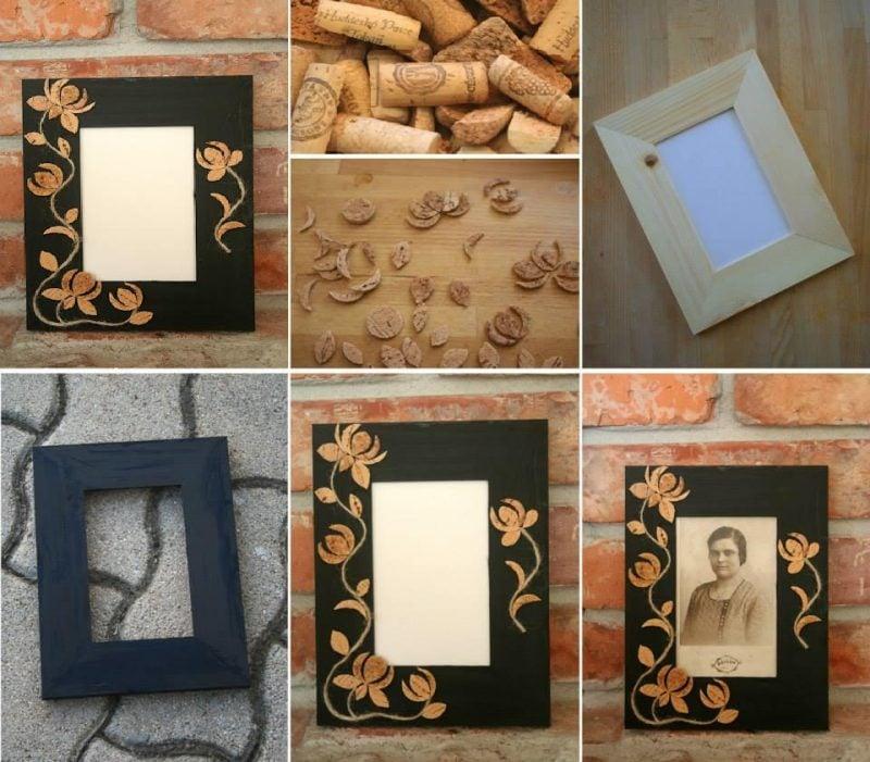 Ausgefallene bilderrahmen selber machen  Bilderrahmen selber bauen mit einfacher Anleitung - Deko & Feiern ...