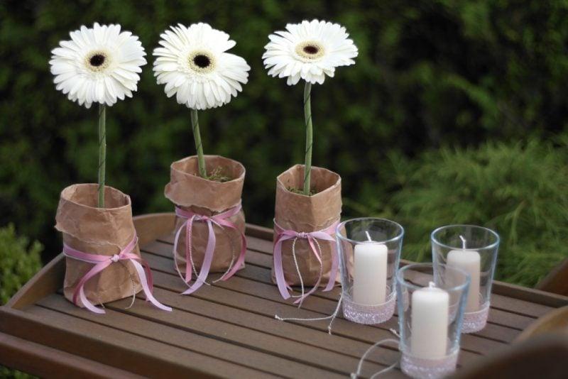 Blumen Tischdeko - eine frische Idee! - Deko & Feiern, Haus ...