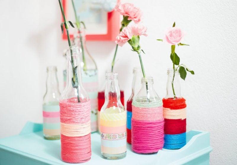 Blumen tischdeko eine frische idee deko feiern for Tischdeko blumentopf