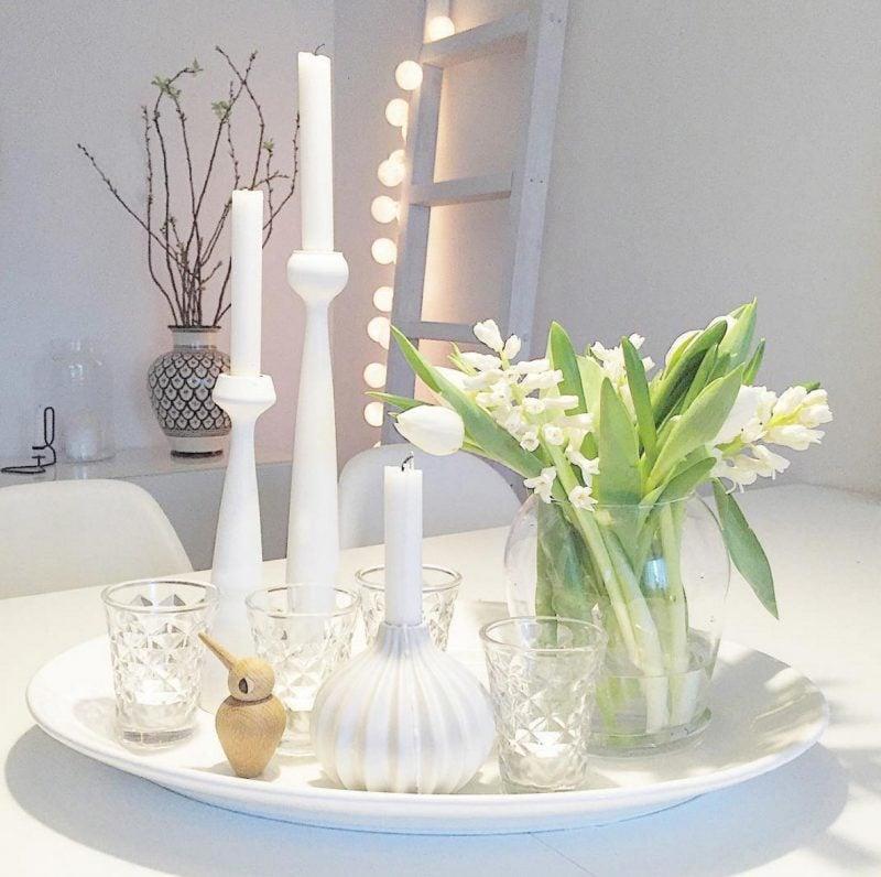 blumen tischdeko eine frische idee deko feiern haus garten zenideen. Black Bedroom Furniture Sets. Home Design Ideas
