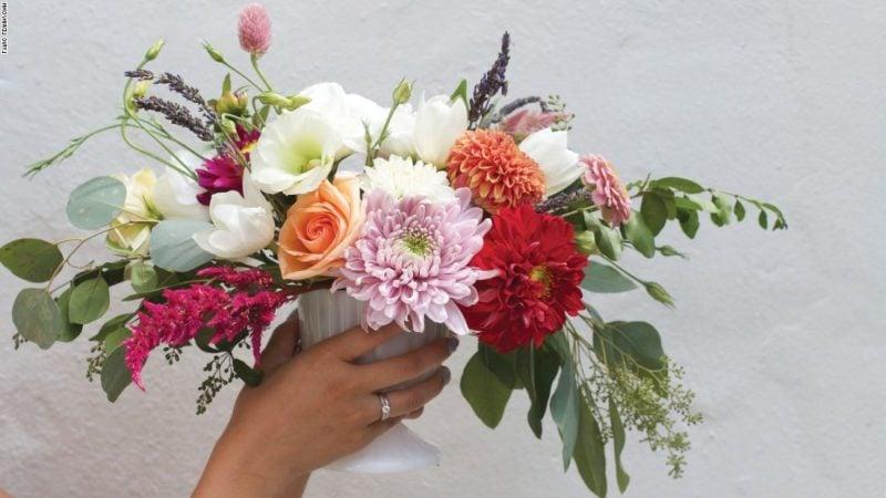 Blumengestecke Blumenarten