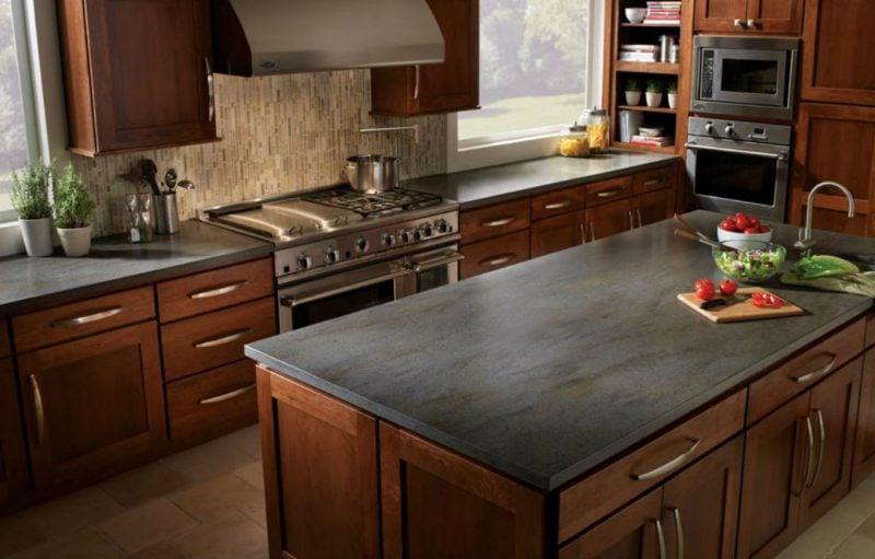 Quartz Küchentheke moderne Kücheninsel