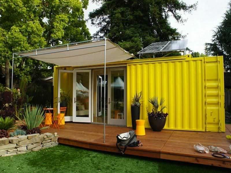 Container Wohnung als Ferienvilla
