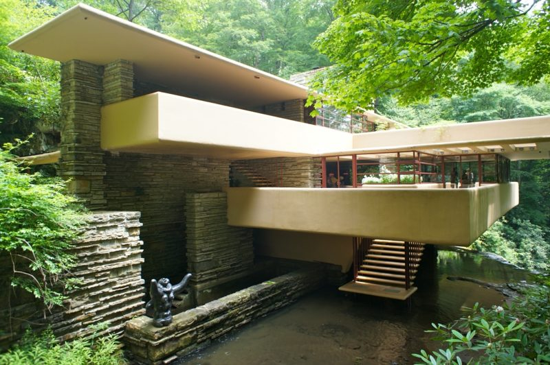 Fallingwater Pennsylvania organische Architektur