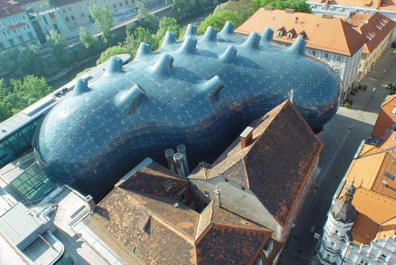 organische Architektur Kunsthaus Graz