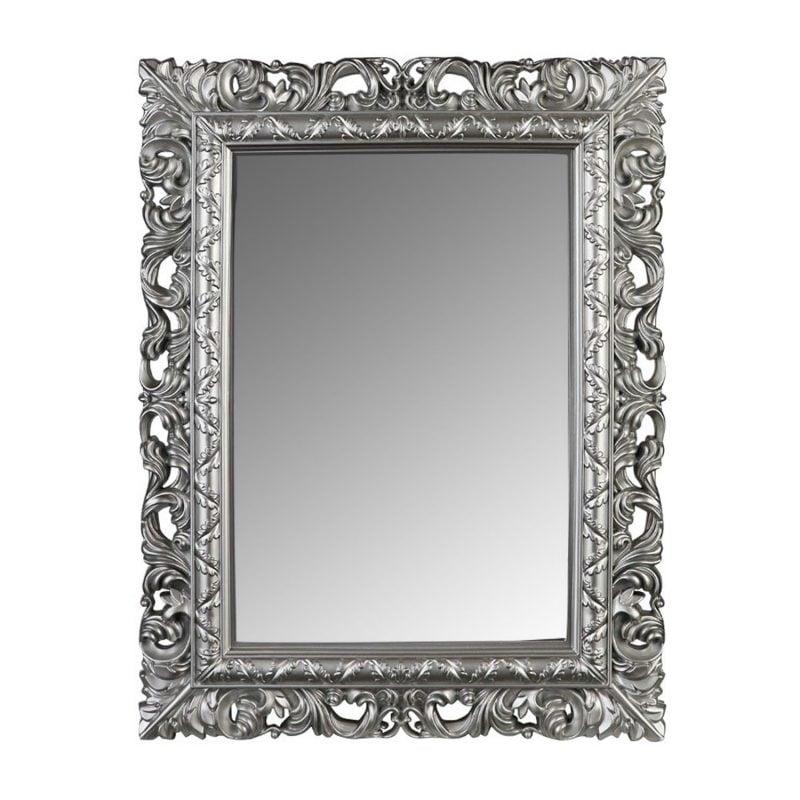 designer spiegel silber