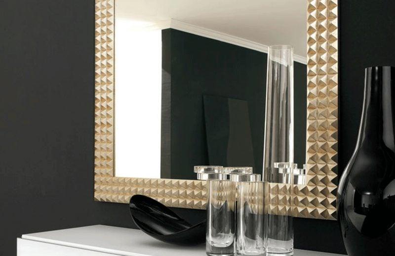 designer spiegel gold