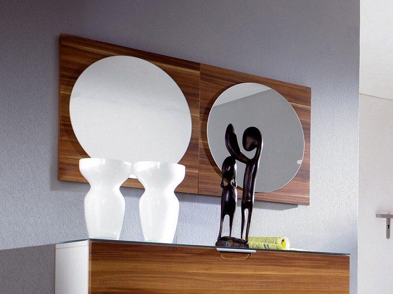 moderner wandspiegel beleuchtung Jean Marie Massaud glas italia DIVA
