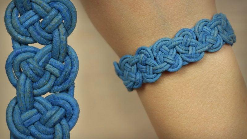 DIY Armband aus Leder