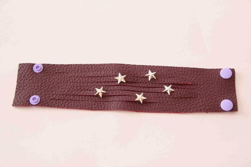 DIY Armband Leder