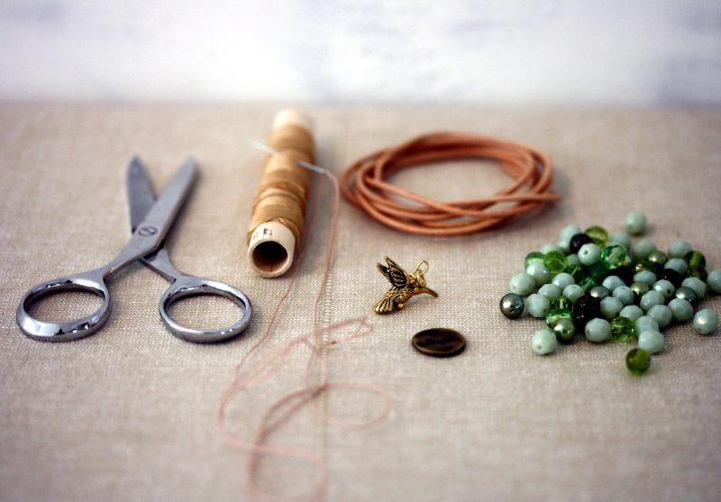 DIY Armband Materialen