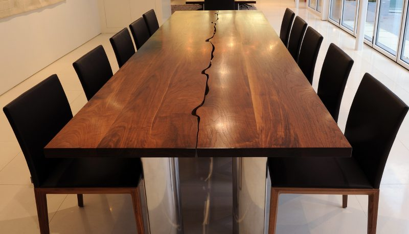 Echtholzmöbel kreativ Tisch