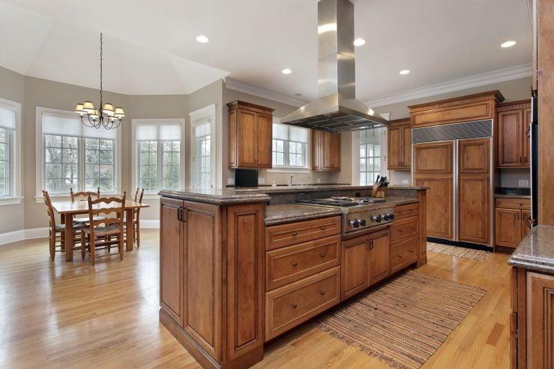 Echtholzmöbel Küche