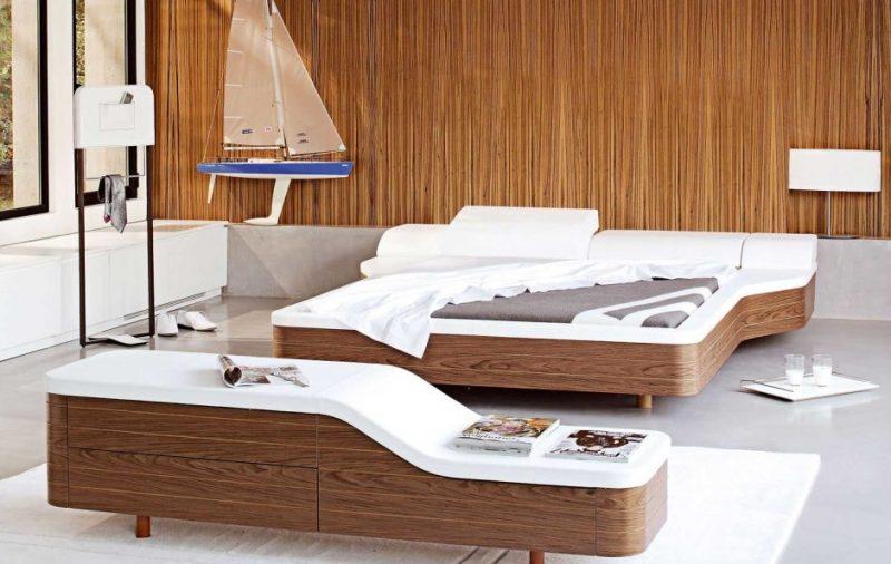 Echtholzmöbel Schlafzimmer Idee