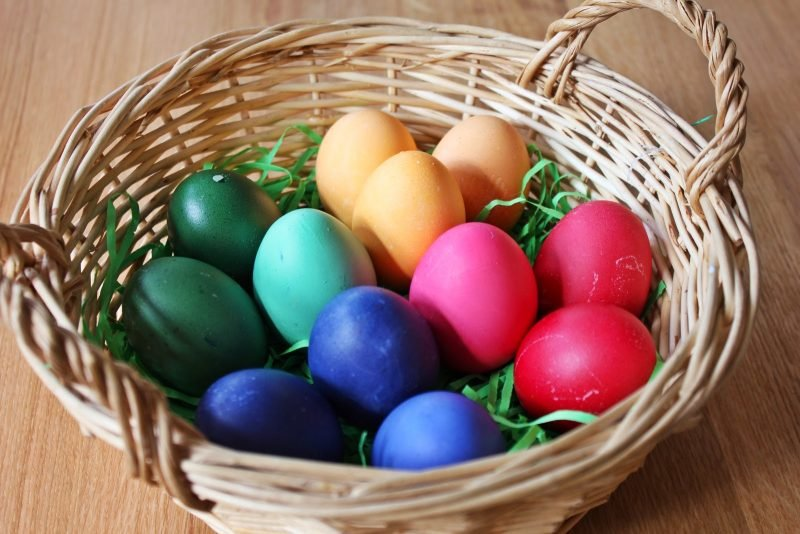 eier färben symbolisch