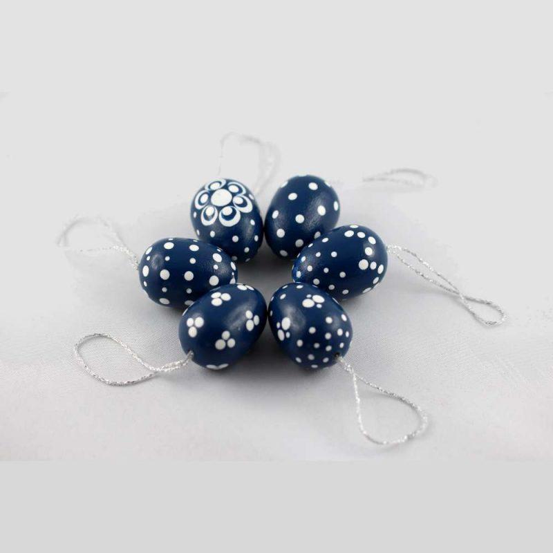 eier färben blau
