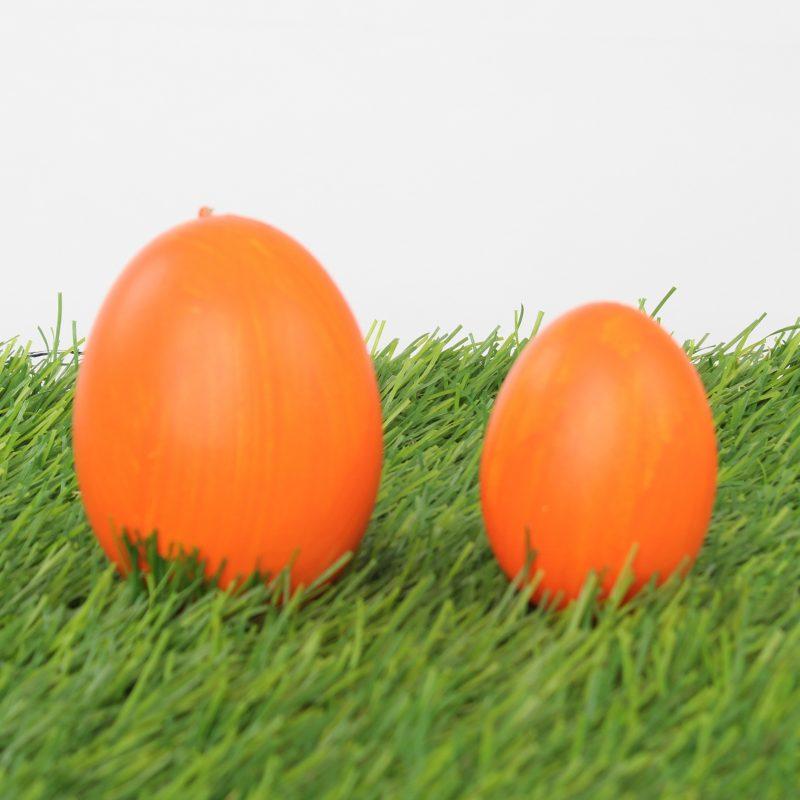 eier färben orange