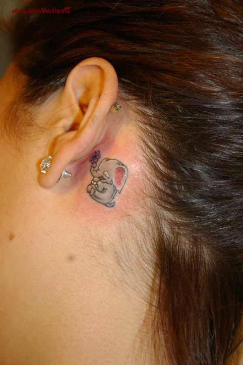 elefanten tattoo symbole und bedeutungen tattoos zenideen. Black Bedroom Furniture Sets. Home Design Ideas