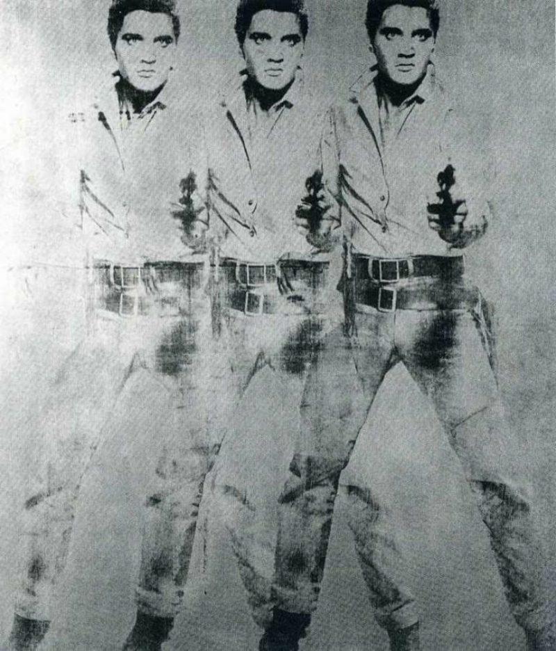 Andy Warhol Werke Elvis
