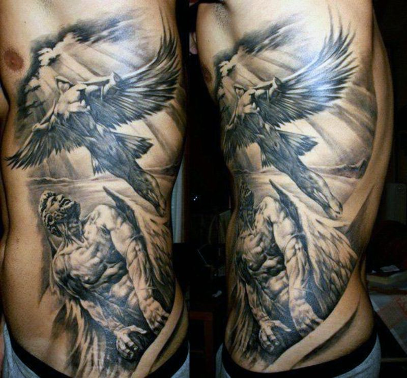 engel tattoo gauardian angel wing