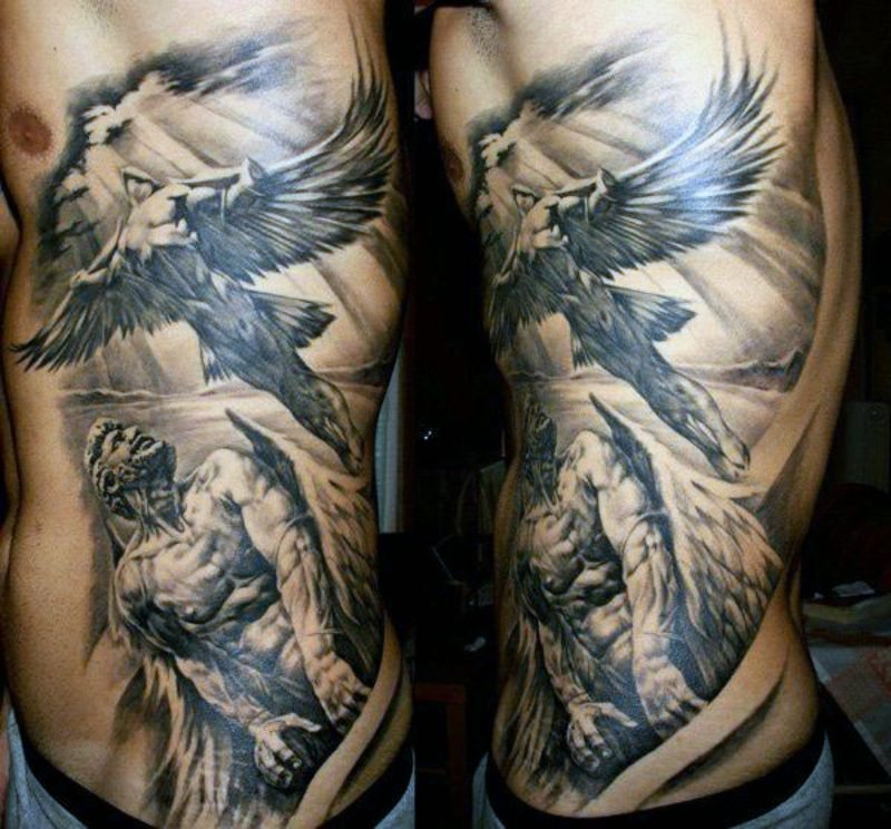 engel tattoo gauardian angel wing