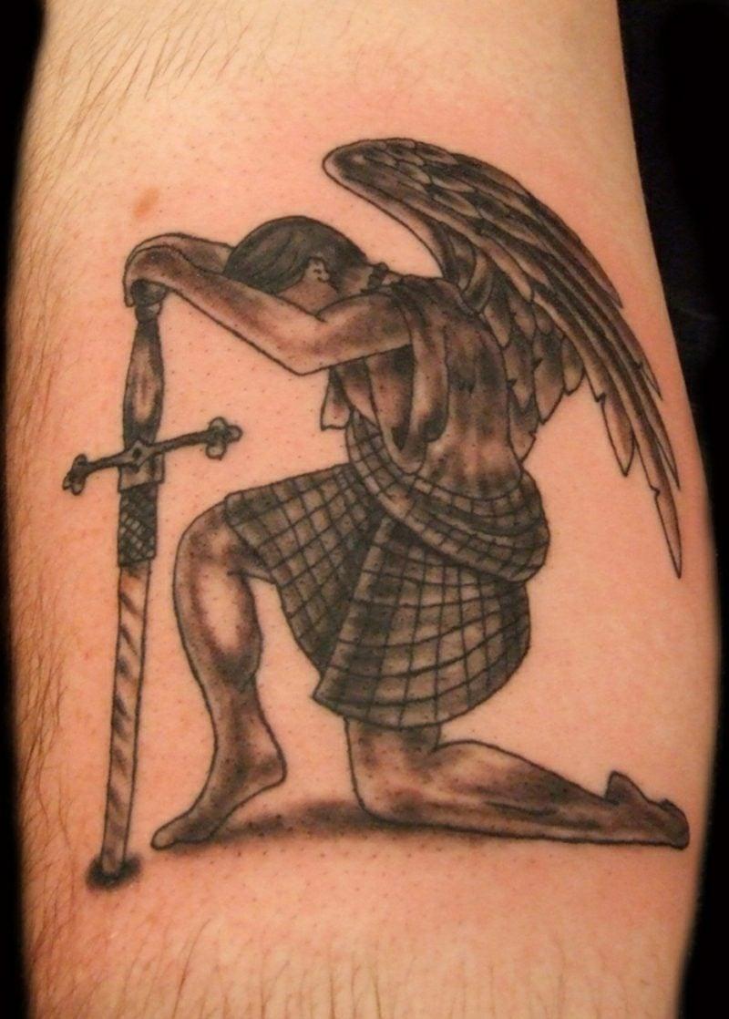 engel tattoo guardian angel tattoo