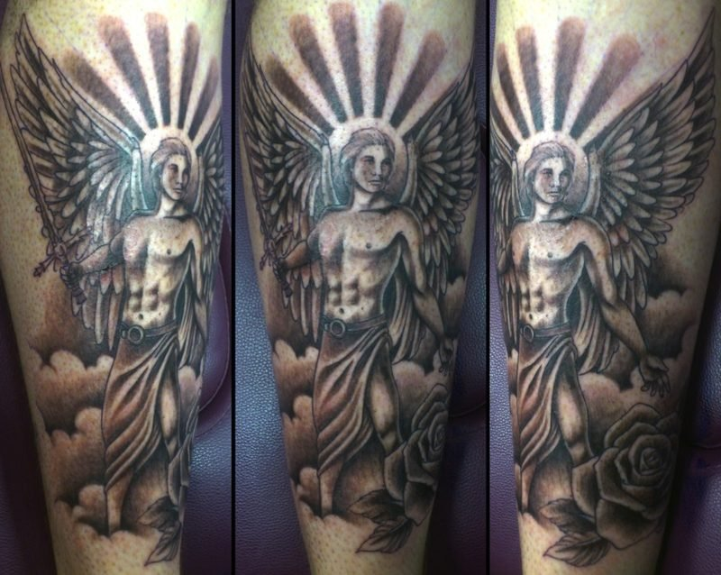 engel tattoo male angel tattoo