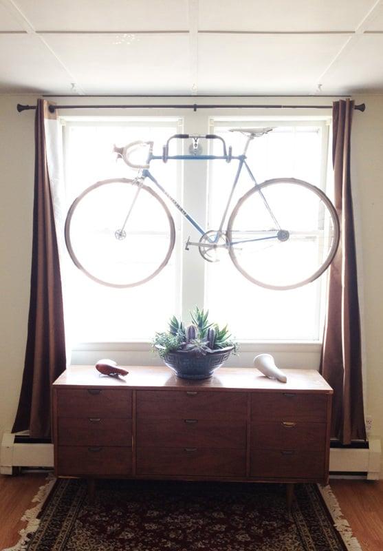 Fahrradhalterung für Wand DIY Projekt