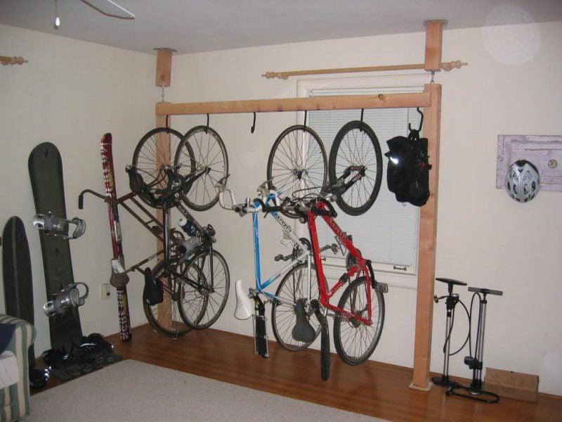 Fahrradhalterung für Wand Idee