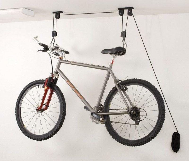 Fahrradhalterung für Wand kreative Ideen