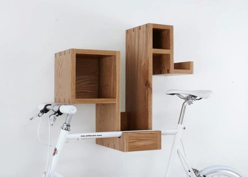 Fahrradhalterung für Wand Regal