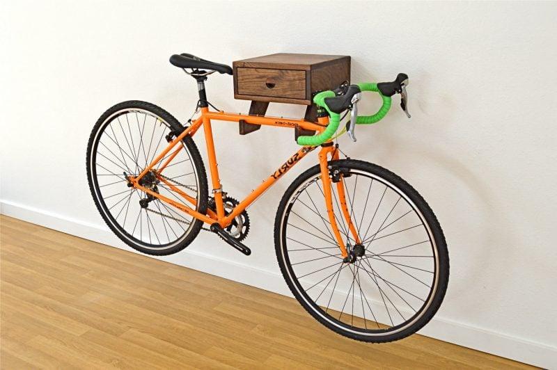 Fahrradhalterung für Wand Schrank