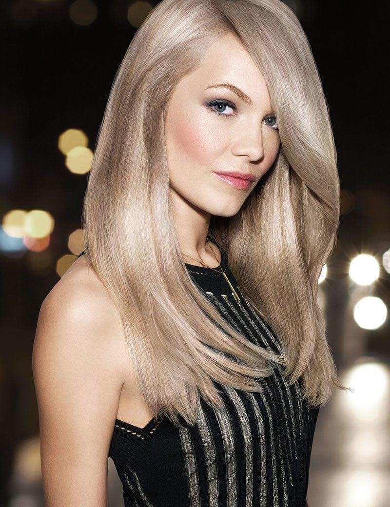 Farbpaletten für blonde Haare