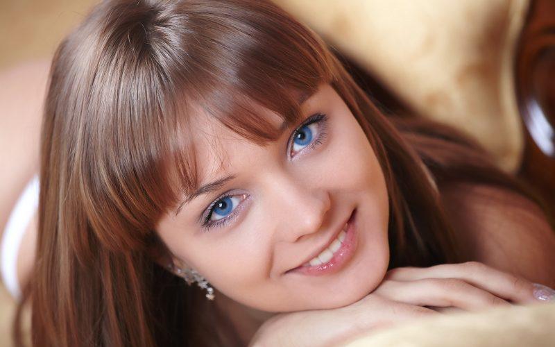 Farbpaletten für blaue Augen