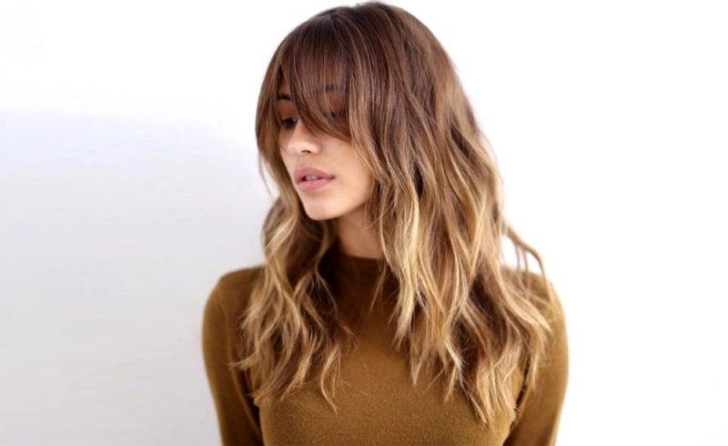 Farbpaletten Haare Ombré Stil