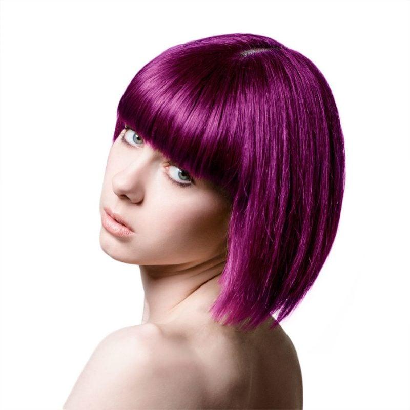 Farbpaletten Lila Haare