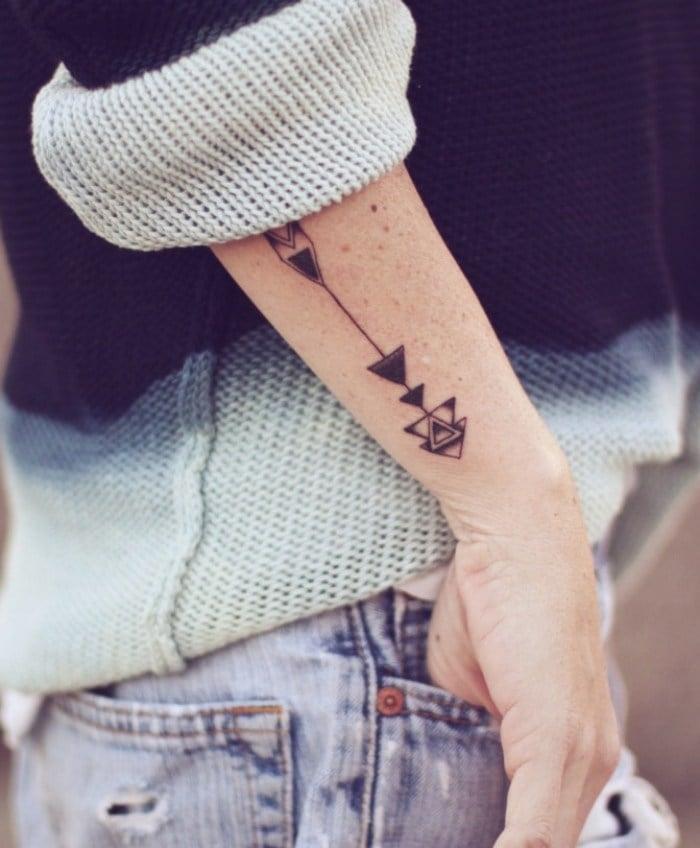 filigrane tattoos klein