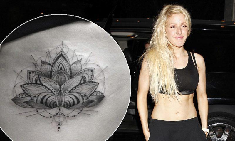 filigrane tattoos ellie goulding