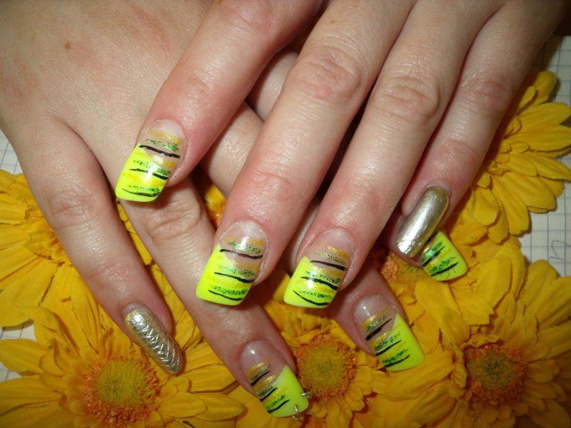 Fingernagel Design Forme