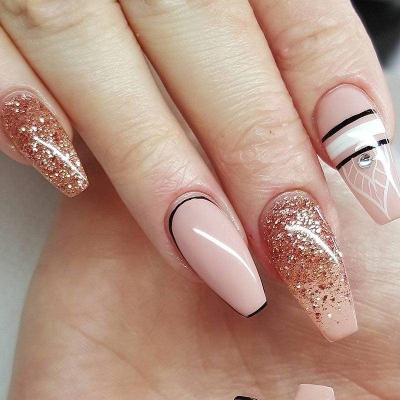Fingernagel Design Gel Design