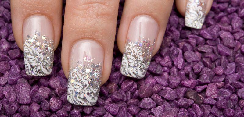 Fingernagel Design Hochzeit Art