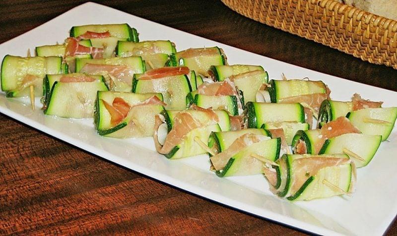 fingerfood kalt zucchini
