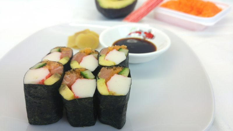 fingerfood kalt sushi